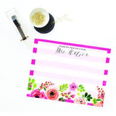 Bridal Stationery | Impress Design Studio