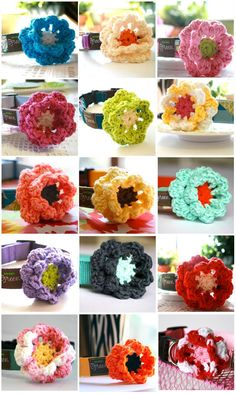 Flower dog collar - way cute!