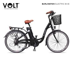 VOLT Burlington Step Through Classic Electric Bicycle