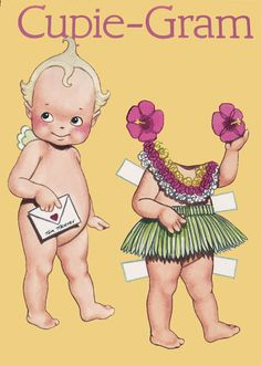 Cupie grams - Bobe Green - Picasa Webalbum * 1500 free paper dolls at Arielle Gabriel's The International Paper Doll Society also at The China Adventure of Arielle Gabriel free paper dolls *