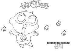 신비아파트 색칠공부 프린트 도안 인쇄하세요! : 네이버 블로그 Anime Neko, Character Drawing, Special Day, Drawings, Illustration, House, Home, Illustrations, Sketches