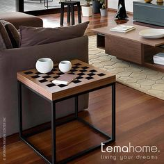 Temahome Chess End Table #sidetables