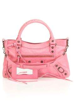 Balenciaga Classic First Handbag In Peony