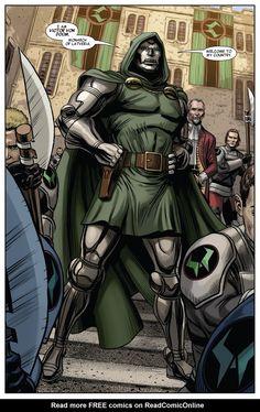 Dr Doom Marvel, Marvel Comics Art, Marvel Comic Books, Marvel Vs, Marvel Funny, Comic Books Art, Marvel Sentry, Comic Art, Marvel Comic Character