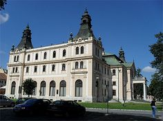 Spisska Nova Ves Slovaquie Le théâtre Reduta a été construit en 1902 par Kalman Gerster, un architecte du courant de la Sécession (branche de l'Art Nouveau dans l'empire austro-hongrois).