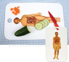 Anatomically-correct cutting board!