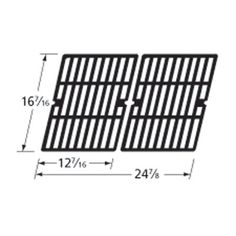 Heavy Duty BBQ Parts 61622 Matte Cast Iron Cooking Grid for Char-Broil/Hamilton Beach/Kenmore Brand Gas Grills