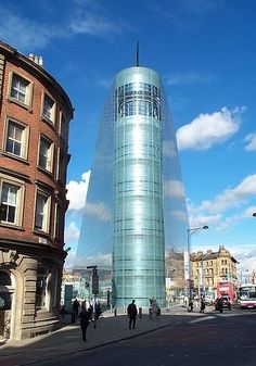 The Urbis (now the Football Museum), Manchester, England - just across the road from the Hard Rock Cafe #Manchester