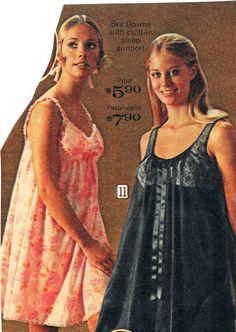 Sears catalog 1969.  Cay Sanderson and Cybil Shepard.