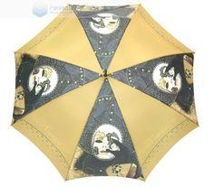 Parasol z kolekcji Art Collection może stać się świetnym dodatkiem nie tylko w karnawale. Wychodząc do znajomych, na prywatkę lub do teatru nie zapomnij zabarać ze sobą oryginalnego parasola; stelaż stalowy z elementami włókna szklanego- parasol odporny na wiatr; kolce metalowe; czarny uchwyt PCV; tkanina poliester pongee; średnica czaszy 102 cm; długośc po złożeniu 87 cm.