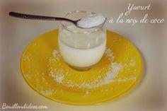 yaourt maison à la noix de coco