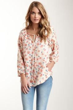 Rieley Drawstring Tie Blouse