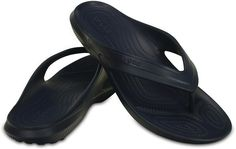 Classic Flip Black & Navy Sandals - Online shopping for Crocs Shoes Fashion. Wholesale welcomed. 28Mall only sells original brands items. Get up to US$28 HongBao shopping credit for new members www.28Mall.com/s/P37