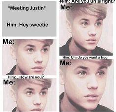 *Meeting Justin*