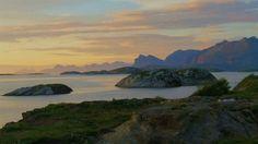 Tatt fra Ausvika i Bodø