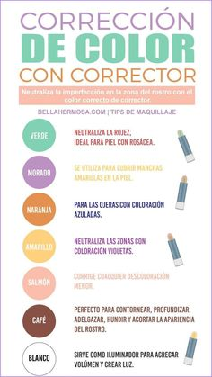 Correctores_de_Maquillaje_Colores-para-que-sir.width-800.jpg (800×1422) Corrector, Alicante, Wedding Colors, Hacks