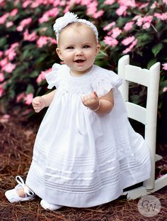 Baptism gown Christening dress