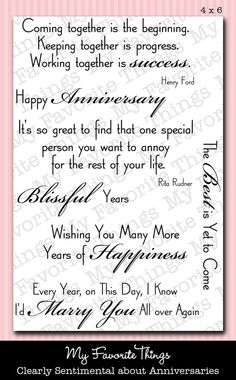 Wedding card sayings messages anniversaries Ideas Anniversary Card Sayings, Anniversary Message, Wedding Anniversary Cards, Happy Anniversary, Husband Anniversary, Wedding Card Quotes, Wedding Cards, Wedding Invitations, Greeting Card Sentiments