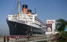 Hotel Queen Mary, Long Beach, California.