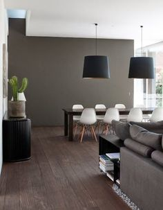 Here are some doable living room decor and interior design tips that will make your home cozy and comfortable for family and friends. Room Inspiration, Interior Inspiration, Grey Walls, Accent Walls, Room Colors, Colours, Dark Colors, Home Fashion, Luxury Fashion