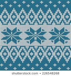 Similar Images, Stock Photos & Vectors of Sweater Design Seamless Knitting Pattern - 492891250 Weaving Patterns, Embroidery Patterns, Knitting Patterns, Jumper Patterns, Snowflake Pattern, Snowflakes, Cross Stitch, Illustration, Crochet
