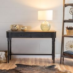 Shop for Aristo Halifax Brown Console Table Get free shipping at