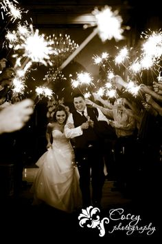 sparklers exit, cosey photography