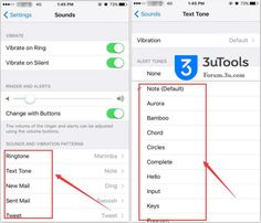 #3uTools #iOS #Apple #iPhone How to Set Ringtone on iOS10? http://forum.3u.com/topic/How-to-Set-Ringtone-on-iOS10--2-124?sid=8da447e41ba2003ed4b7deae42945d58