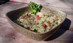 Recipe: Quinoa Tabouli Salad. (Follow our other boards for detox, fitness, yoga and green living tips: pinterest.com/gaiam)