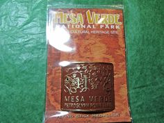 MESA VERDE NATIONAL PARK PETROGLYPH POINT TRAIL HIKING MEDALLION COLORADO-H13