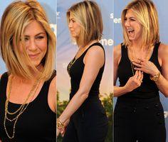 Jennifer Aniston short bob ... wow, she rocks this hairstyle!!! :)