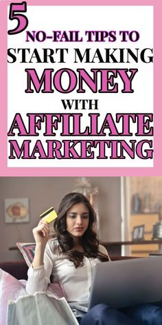 5 Affiliate marketing tips. this is the exact strategy I used to make money with affiliate marketing. make money blogging the easy way! #blog #makemoney #blogging