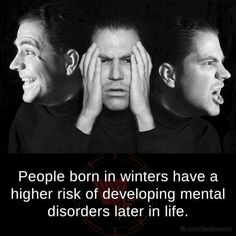 """Higher intelligence is linked with higher rates of mental illness such as schizophrenia and bipolar disorder, causing the """"mad scientist"""" stereotype to have ground in reality. Mental Disorders, Bipolar Disorder, Weird Facts, Fun Facts, Awesome Facts, Depression Awareness, Schizophrenia, Mbti, Mental Illness"""