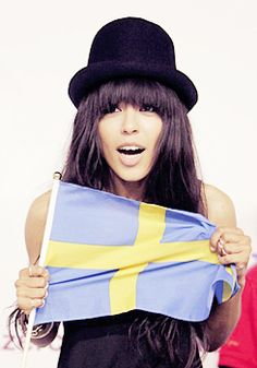 Loreen - the winner of the Eurovision Song Contest 2012 <3