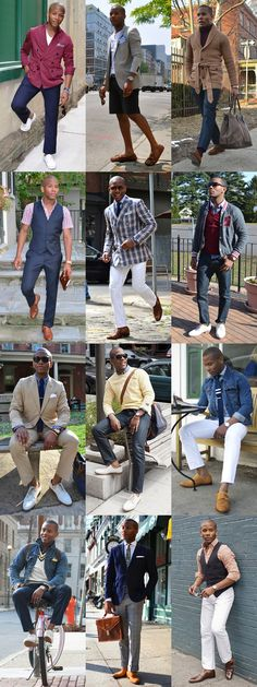 I love the whole idea of casual menswear. I'm not into all of the other stuff