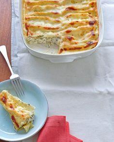 Cannelloni mit Spinat und Ricotta////Dieser Ofenklassiker ist garantiert mehrheitsfähig: ein wunderbarer fleischfreier Primo Piatto.