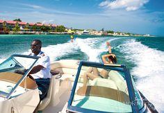 Sandals Montego Bay - Vacation - Watersports - waterskiing - luxury honeymoon