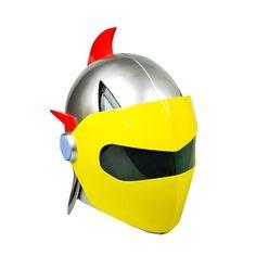 UFO Robot Grendizer: Duke Fleed 1:1 Scale Helmet Replica (July 2017) #dukefleed #grendizer #fatsuma #hlpro #ufo #robot #uforobotgrendizer #helmet #lifesize #awesome #cool #instacool #beautiful #beauty #amazing #love #instalove #fun #art #instagood #collectible #toy #new