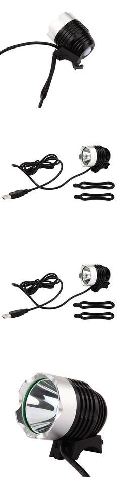Bicycle Accessories Night Bike Light Bisiklet Aksesuar Aluminum Bicycle LED Front Bike Light Lamp Waterproof 3 Mode Flashlight