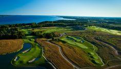 Steve Smyers Golf Course Architects | LochenHeath, Traverse City, MI | Golf Course Aerial | Photography-Brian Walters | http://stevesmyers.com/ | #SmyersDesign #GolfCourseDesign #GolfCourses #ssgca
