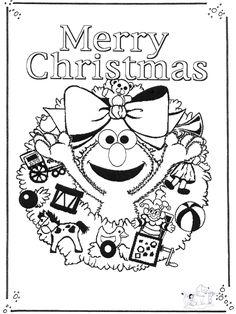 11 Best Christmas Images Sesame Street Party Sesame Street