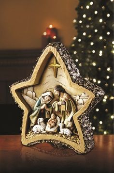 This Nativity figurine is a beautiful and inspiring additions to any family's Christmas collection. The Crafted piece comes in an elegant Avalon Gallery™ signature gift box - great for giving or for storage after the season ends! Christmas Gifts For Women, Christmas Love, Beautiful Christmas, All Things Christmas, Christmas Holidays, Christmas Crafts, Merry Christmas, Christmas Decorations, Christmas Ornaments