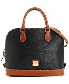 Dooney & Bourke Zip Top Satchel - Handbags & Accessories - Macy's
