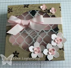 Love To Stamp: Box .... tutorial on a candle box by Erna logtenberg