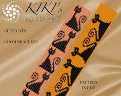 Bead loom pattern Lakota star LOOM bracelet PDF von KikisBeadArts