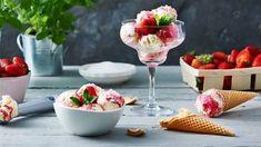 Przygotuj w domu własne lody śmietankowo-malinowe, które możesz podać na 5 sposobów. Więcej w Kuchni Lidla!