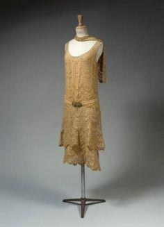 Chanel evening dress ca. 1925