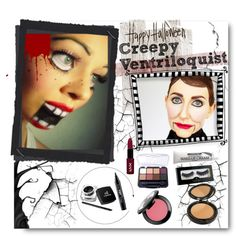 DIY MAKEUP- CREEPY VENTRILOQUIST