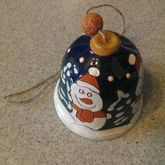 My #ceramic #bell from #Moscow #handbell #bellcollection #ceramicbells #ceramicbell #колокольчик #коллекция