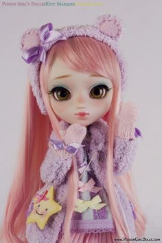 Poison GirlxKety MarquesxGreenbottle custom Pullip doll, donation for PullipCon Barcelona 2014